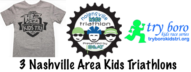 3 Nashville Area Kids Triathlons